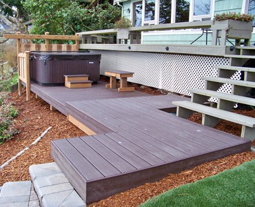 Hedahl Landscape Services Decks Patios Arbors